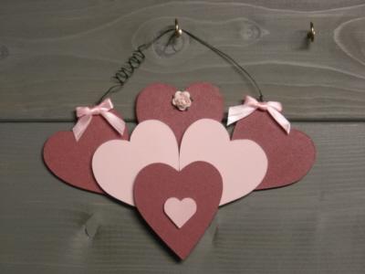 Fan shaped heart