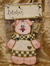 Kitchen Open/Closed Pig