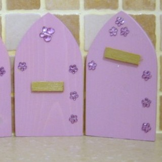 Fairy Elf Door Lavender
