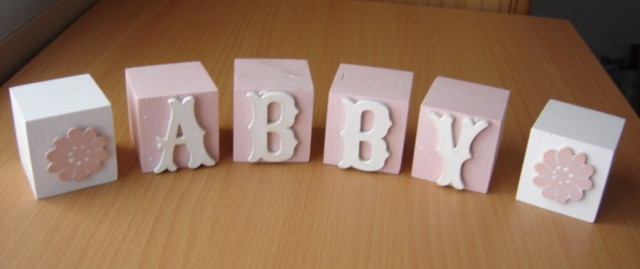 Kids Blocks Letters