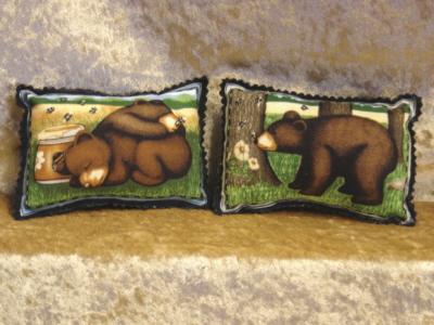Mini Bear Pillows