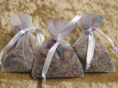 3 x Lavender & Rose Bags